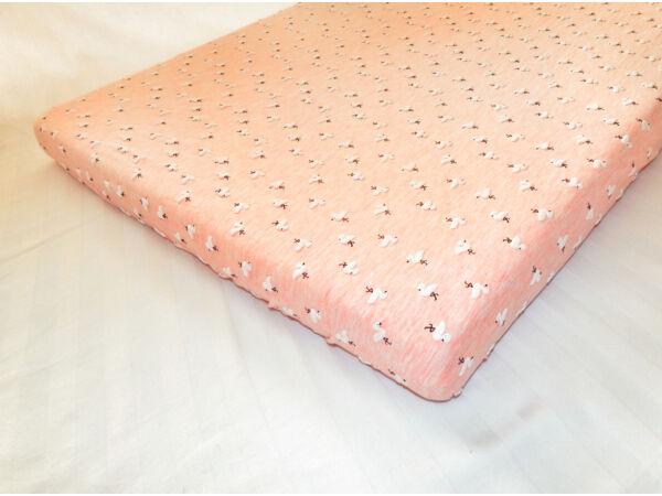 Kiságy lepedő Flamingós